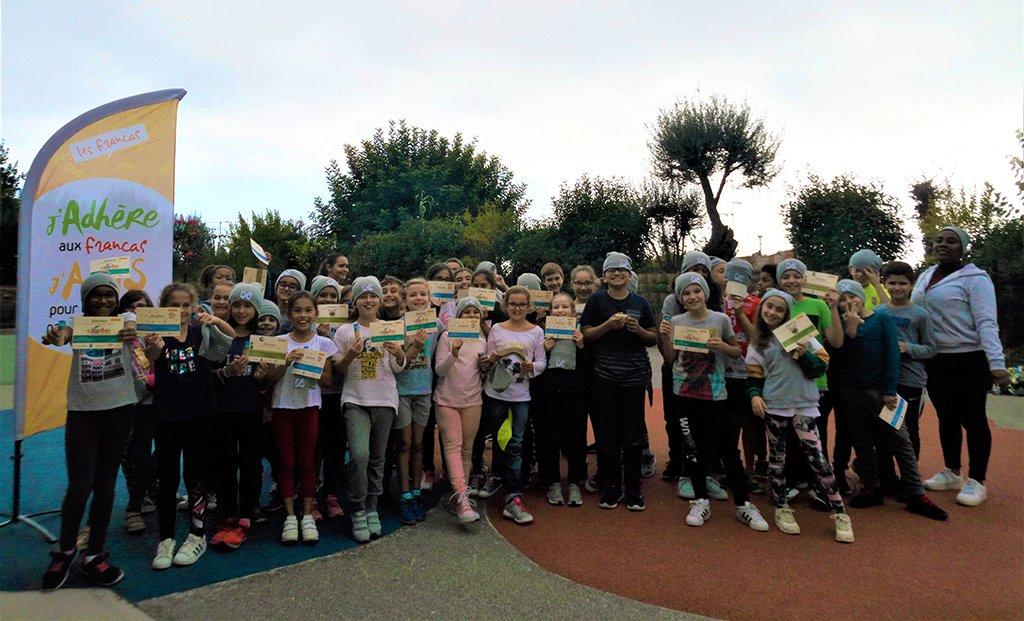 Rallyes des droits de l'enfant à Beausoleil et Grasse