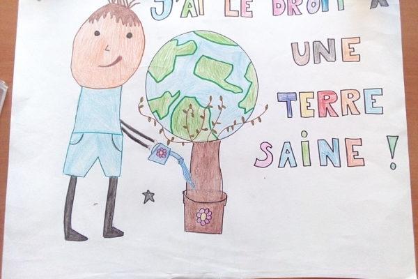 St Paul de Vence- Ecole la Fontette Classe Mme Dujardin